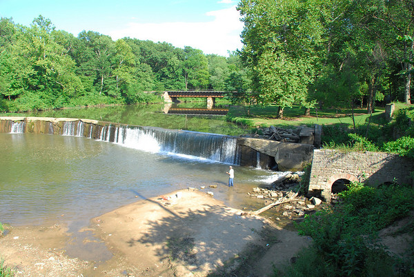 Mill dam at Markles's                       Mill
